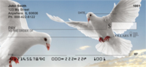 On The Wings Of A Dove Personal Checks