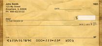 Parchment Personal Checks