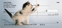 Sew Playful Kittens Personal Checks
