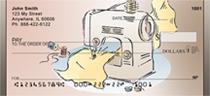 Vintage Sewing Machines Personal Checks