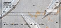 Steel Diamond Plate Personal Checks