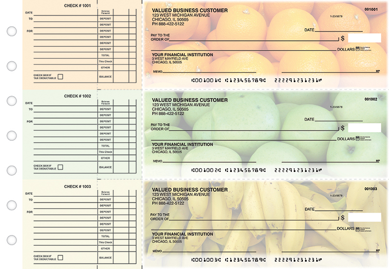 Fresh Picked Accounts Payable Business Checks