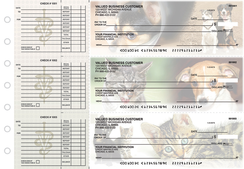 Pampered Pets Accounts Payable Business Checks