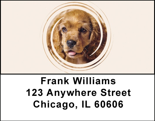 Cocker Spaniel Address Labels